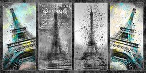 Eiffeltoren Collage