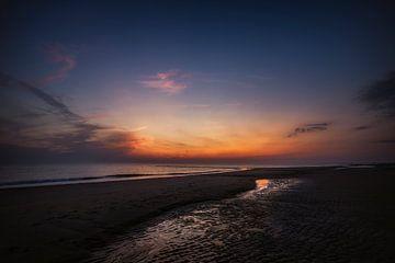 Fantastique coucher de soleil sur Bob Daalder