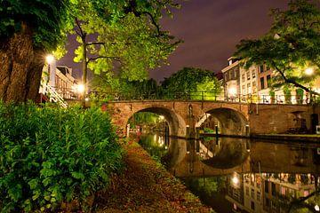 Utrecht Oudegracht: Geertebrug sur martien janssen