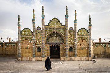 Iranische Frau in Qazvin, Iran von OCEANVOLTA