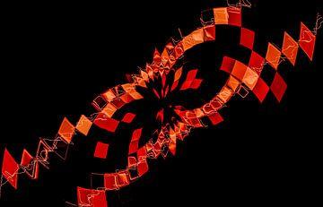 schwarz rot rot schwarz von Norbert Sülzner