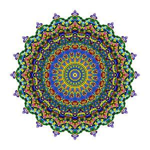 Mandalabloemen droom van