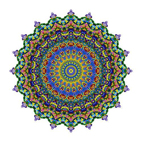 Mandalabloemen droom van Marion Tenbergen