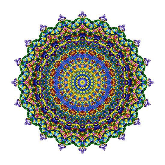 Mandalabloemen droom