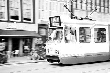 Amsterdamse tram van Christel Verschuren