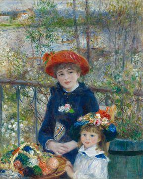 Auf der Terrasse - Pierre-Auguste Renoir