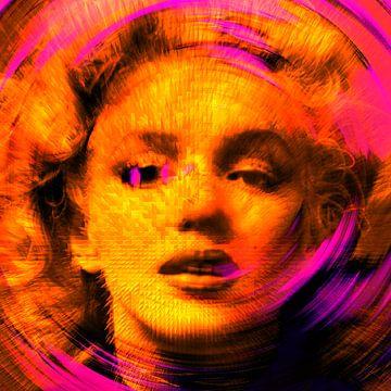 Marilyn Monroe von Rudi Lippi