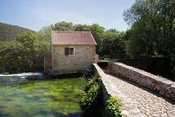 Hütte im Wasser von Kristof Ven