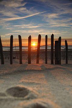 Sonnenuntergang Maasvlakte2 von Pauline Paul