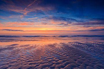 zonsondergang langs de Nederlandse kust sur gaps photography