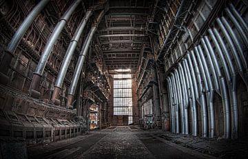 De kathedraal der verval (Urbex) van Eus Driessen