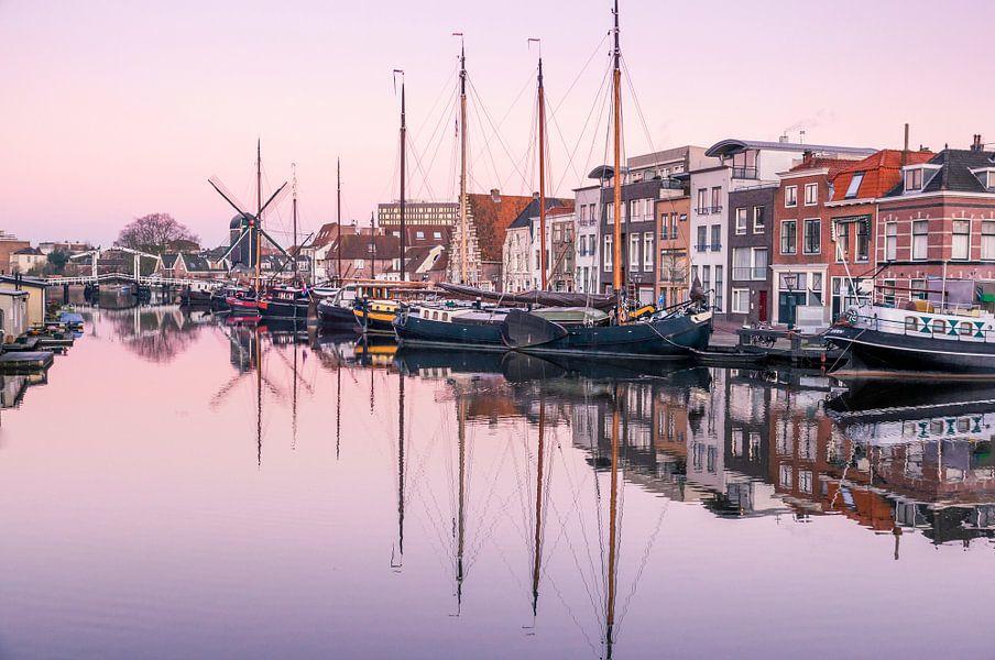 Het Galgewater in Leiden