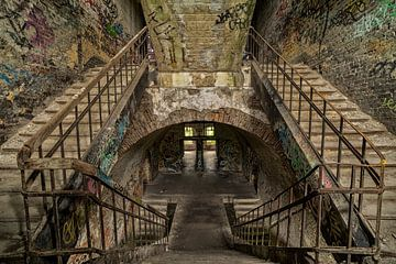 Escalier sur Gonnie van de Schans