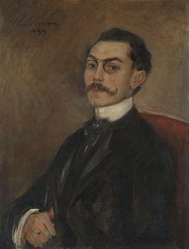 Porträt von Dr. Ferdinand Mainzer, Lovis Corinth