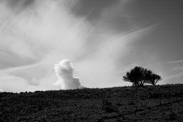 Wolke auf dem Hügel von Cathfish photography by Cathie Lefieuw