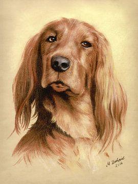 Portret Jachthond van Marita Zacharias