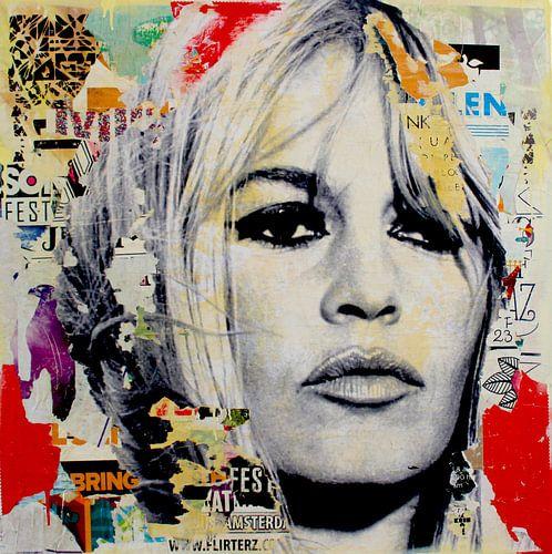 Brigitte Bardot von Michiel Folkers