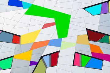 Bauen mit farbigen Oberflächen von Bob Janssen