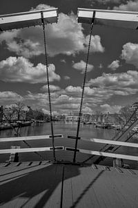 Zicht over de Amstel van Peter Bartelings Photography