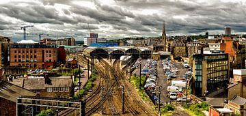 Newcastle Station von Rik Wolswijk
