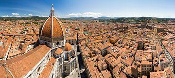 Florence kathedraal panorama van Dennis van de Water