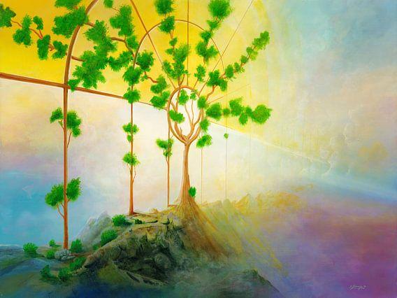 Lebensbaum van Silvian Sternhagel