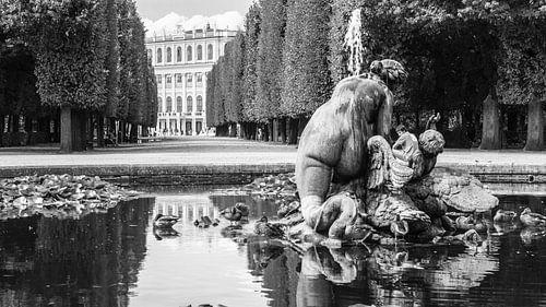 Slot Schonbrunn, Wenen von Chris van Kan