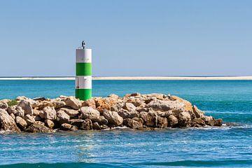 Pier Fuseta Algarve Portugal van Mario Brussé Fotografie