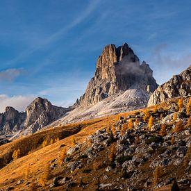 Landschaft der Dolomiten - 3, Italien von Adelheid Smitt