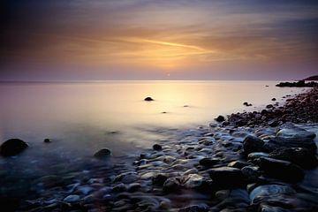 Zonsondergang Egeische zee von John Leeninga