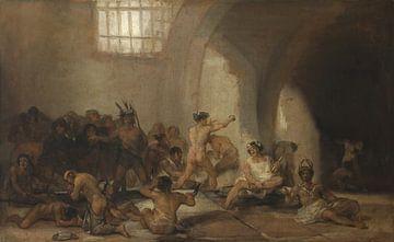 Das Irrenhaus, Francisco de Goya