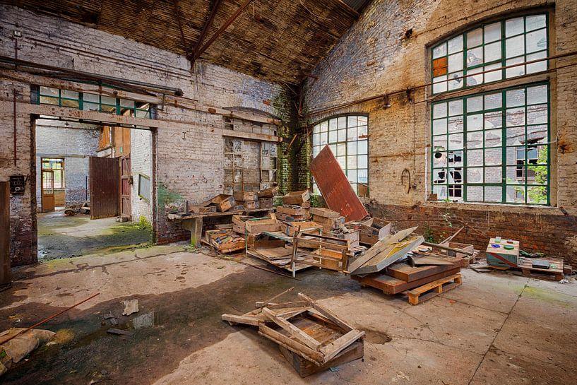 Urbex: Kristallfabrik von Carola Schellekens