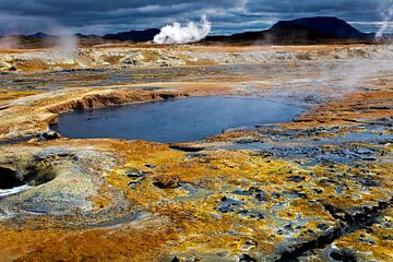 Hete bronnen  te IJsland van