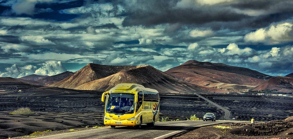 La Geria-de wijnstreek van Lanzarote