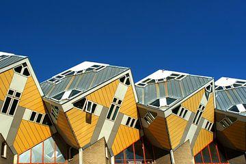 Cube house in Rotterdam von Alice Berkien-van Mil