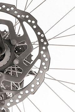 Close up van een fiets van Andreas Föll