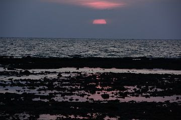 Purple sunset von Michael Van haver