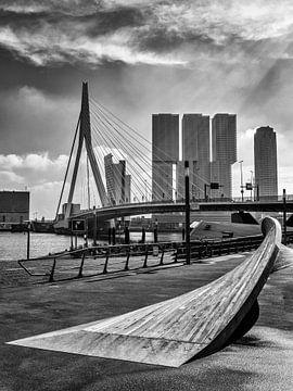 Erasmusbrücke Rotterdam von Rob Boon