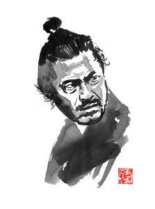 toshiro mifune samurai sur philippe imbert