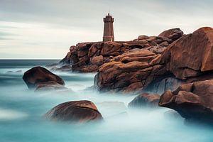 Leuchtturm in Ploumanac'h, Frankreich von Tijmen Hobbel