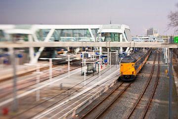 trein op station Arnhem van joas wilzing