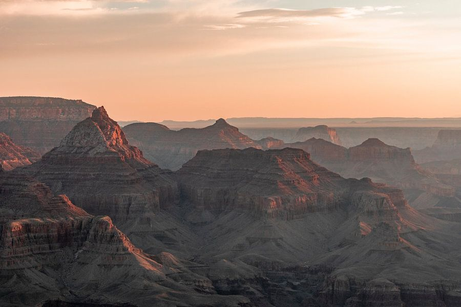 Grand Canyon - Het eerste licht van Remco Bosshard