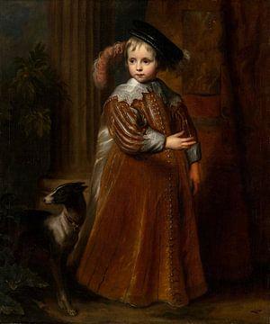Portrait de Guillaume II, Prince d'Orange-Nassau, Antoon van Dyck sur