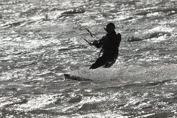 Kitsurfen van Rob Hansum