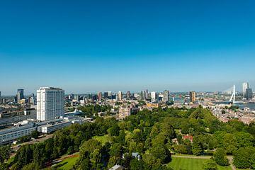 Erasmusbrug Rotterdam in Panorama foto. van Brian Morgan