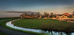 Het Friese dorpje Gaast