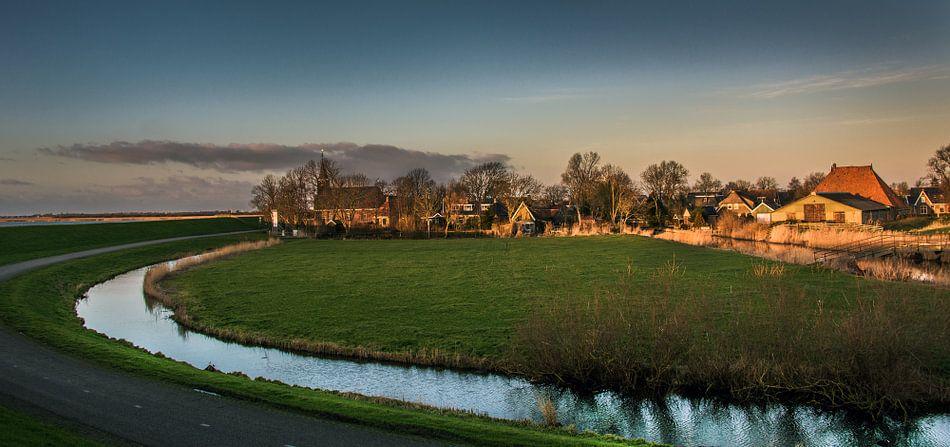 Het Friese dorpje Gaast van Harrie Muis