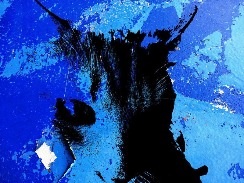 Kattenkunst - Odin 2 van MoArt (Maurice Heuts)