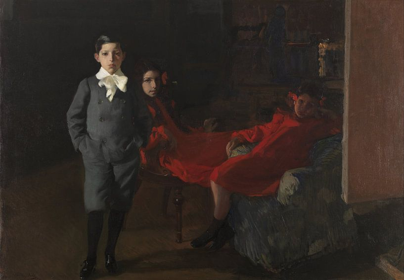 Meine Kinder, Joaquín Sorolla y Bastida von Meesterlijcke Meesters