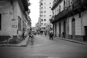 Straten van Havana van Dusty Bisschops